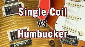 Single <b>Coil</b> vs <b>Humbucker Pickup</b> Tone Comparison - YouTube