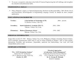 work abroad resume 28 images sle of resume for abroad sle of
