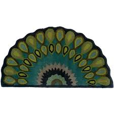 14 best half round rugs images on penny rugs circular half round rugs hearth rugs