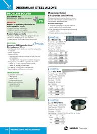 Welding Alloys And Accessories Lawson Products Catalog Ca
