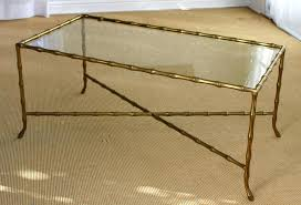bamboo coffee table awesome round with glass top