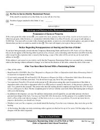Ea-110 Temporary Restraining Order Free Download