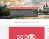 25+ free WordPress themes fresh for May | Science and Technology