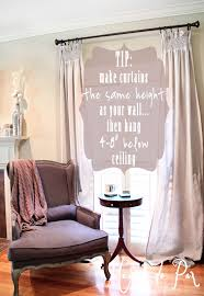 Drop Cloth Curtains Tutorial Diy Smocked Curtains Maison De Pax
