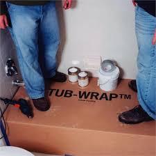 tubwrap bathtub protection for standard 5 ft bathtub