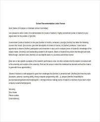 Recommendation Letter For Programmer Graduate School Recommendation Letter Threeroses Us