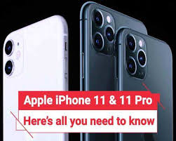 Iphone Price Chart In India Iphone 11 11 Pro 11 Max Key Features And Price Details