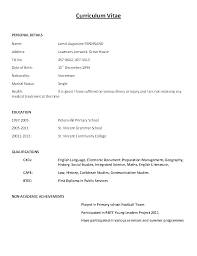Resume Format Application Resume Format Application Administrativelawjudge Info