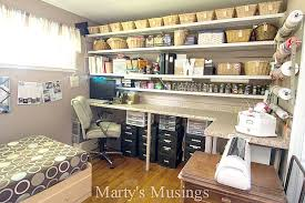 eclectic crafts room. Wonderful Eclectic Home Tour From Martyu0027s Musings Craft Room In Eclectic Crafts M