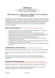 Confortable Resume Layout Examples Australia In Australian Cv
