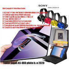 Máy tính bảng tablet nhật Bản cùng kem quà tặng 1 miếng màn hình cảm ứng