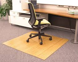 under desk plastic mat floor for office chair on wood hardwood large size