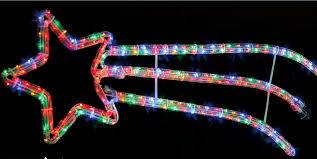 christmas rope lighting. 4 Of 12 Christmas Rope Lights Large Festive Decorations Multi Colour Indoors \u0026 Outdoors Lighting