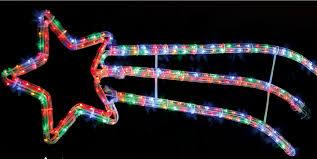 christmas rope lighting. 4 Of 12 Christmas Rope Lights Large Festive Decorations Multi Colour Indoors \u0026 Outdoors Lighting