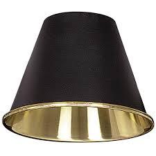 5 matte black solid brass chandelier shade shades of light