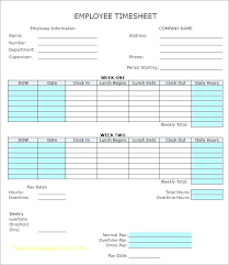 Bi Weekly Time Card Time Card Calculator Templates Multiple Employee Weekly Timesheet