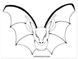 Coloring Bats Vampire Bat Baseball Bat And Glove Coloring Pages