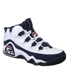 fila shoes for men. fila 95 grant hill 1 mens white athletic basketball shoe shoes for men n