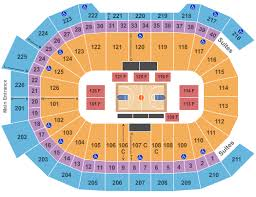Giant Center Seating Chart Hershey