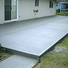 backyard concrete ideas what to do with concrete slab in backyard patio cement decorations 3 yard