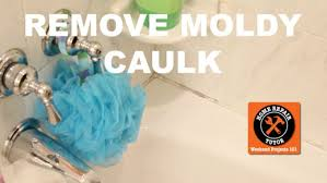 remove and replace moldy shower caulk home repair tutor you intended for repair caulk in shower