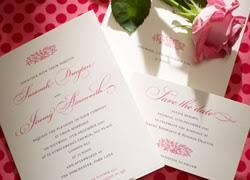 <b>Traditional Wedding</b> Invitations - <b>Classic</b> Stationery