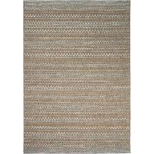 orian rugs isle sky beige indoor outdoor coastal area rug common 5 x