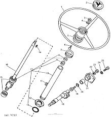 John deere parts diagrams john deere 1050 tractor pc2016 steering