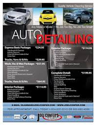 Auto Detailing Flyer Template car detail flyer template free Google Search auto detail 1