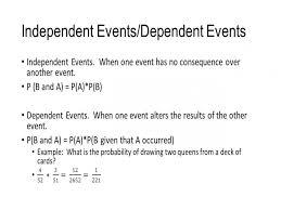 Probability Independent Events Worksheet - wiildcreative