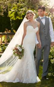 Essense Designs Australia Fit N Flare Strapless Wedding Gown I Essense Of Australia