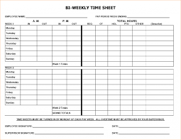 Excel Time Sheets Templates Excel Biweekly Timesheet Template With Formulas Ideas Time