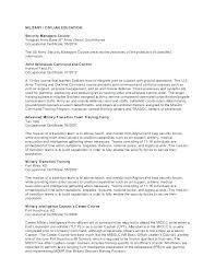 Air Force Military Resume Air Force Military Resume Free Download