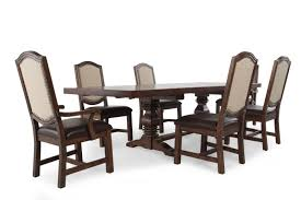 seven piece dining set: samuel lawrence american attitude seven piece dining table