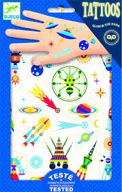 Tetování Veselý Vesmír Hras