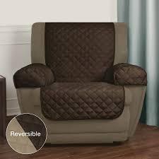 original recliner chair covers uk mainstays reversible microfiber fabric pet furniture