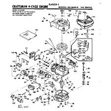 craftsman craftsman eager 1 4 cycle engine parts model 143294742 no parts found