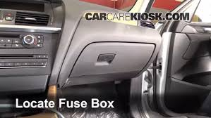 interior fuse box location 2011 2016 bmw x3 2011 bmw x3 locate interior fuse box and remove cover