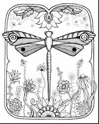 Manificent Design Dragonfly Coloring Pages Free Page 20 Coloring