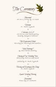 Wedding Reception Program Templates Wedding Reception Program Sample Service In 2019 Wedding