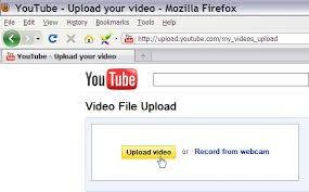 Image result for upload your video to youtube