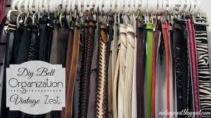 Belt Storage Ideas Designs. Title. 25 Creative Organization Solutions Do  Small Things With Great Love