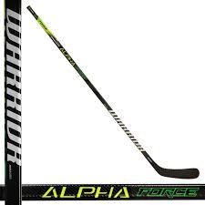 Warrior Alpha Force Dx 9 Smu Intermediate Hockey Stick 55 Flex