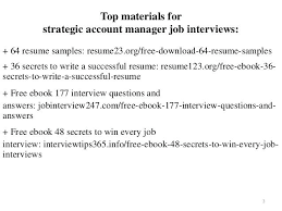 Interview Questions For Account Managers Account Manager Resume Sample Dongde Info