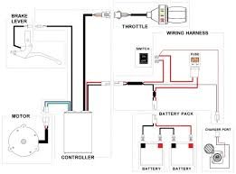 electric scooter wiring diagram owner s manual wiring diagram scooter wiring diagrams source brushless motors bldc motor sensorless controllers