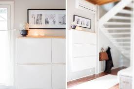 Ikea Trones Storage Hack Entryway