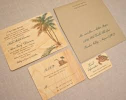 real wood wedding invitations and cards by woodchickinvitations Real Wood Wedding Invitations real wood wedding invitations palm tree vintage real wood wedding invitations custom