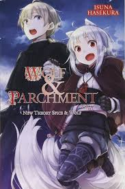 Wolf And Parchment Light Novel Amazon Com Wolf Parchment New Theory Spice Wolf Vol