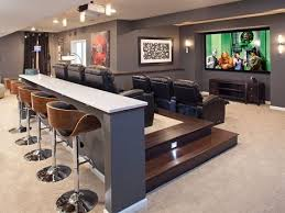 Impressive Basement Ideas For Men Man Stuff Styling And Personalizing Makeoverbasement To Decor