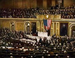 woodrow wilson s speech analyzed the speech given on  president woodrow wilson asking congress to declare war on causing the united states to